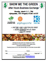 Show Me The Green After Hours Business Exchange