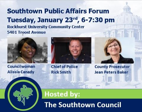 southtown-public-affairs-forum-councilwoman-canady-KCPD-chief-smith-and-prosecutor-jean-peters-baker